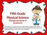 S5P1b. Georgia Physical Science Powerpoint w/Guided Notes and Key