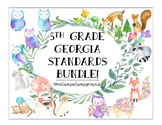 5th Grade Georgia Standards - ELA, Math, Science, & S.S. - BUNDLE