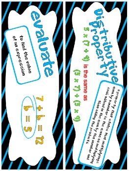 5th Grade Go Math Chapter 1 Resource Pack - Vocabulary, Guided Notes, Task Cards