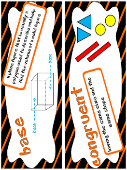 5th Grade Go Math Chapter 11 Resource Pack - Vocab., Guided Notes, Task Cards