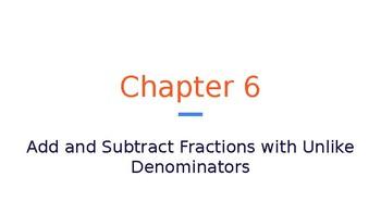 5th Grade Go Math- Chapter 6 Powerpoint