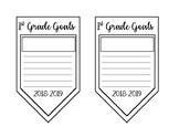 1st-6th Grade Goals Banner - Editable