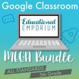 5th Grade Google Classroom Math Bundle, Interactive Digital Math Curriculum, 5th