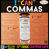 5th Grade Grammar Game | Commas in a Series and MORE