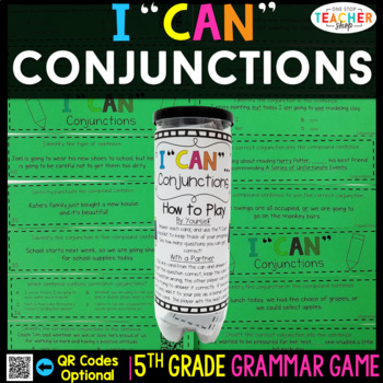 5th Grade Grammar Game | Conjunctions & Correlative Conjunctions