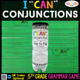 5th Grade Conjunctions & Correlative Conjunctions Game