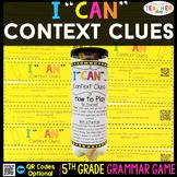 5th Grade Context Clues Game