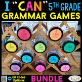 5th Grade Grammar Games | Literacy Centers | Test Prep Review