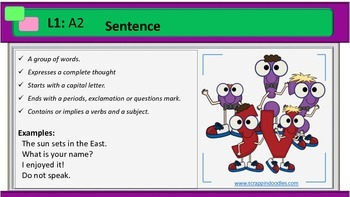PPT Grammar Lesson 5 Review Sentences Interjection Subject Predicate