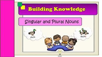 "5th Grade Grammar Lesson 12 ""Singular and Plural Nouns"""