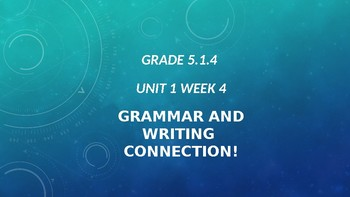 5th Grade Grammar/Writing