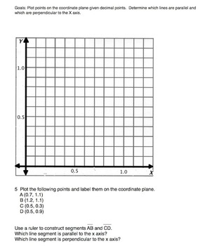 5th Grade Graphing Test Practice