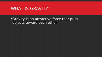 5th Grade Gravity and Friction