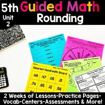 5th Grade Guided Math -Unit 2 Rounding