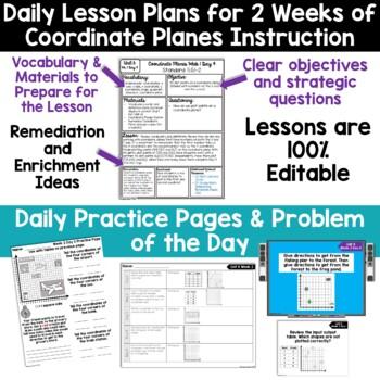 5th Grade Guided Math -Unit 6 Coordinate Planes