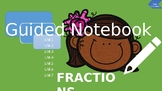 5th Grade Math Interactive Notebook -Fractions (Common Core)
