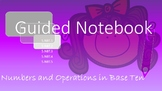 5th Grade Math Interactive Notebook-Numbers and Operations