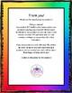 5th Grade Guided Reading Teacher Note Sheet - Standards Based Grading