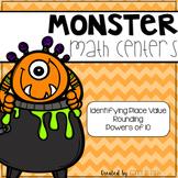 5th Grade Halloween Math Centers