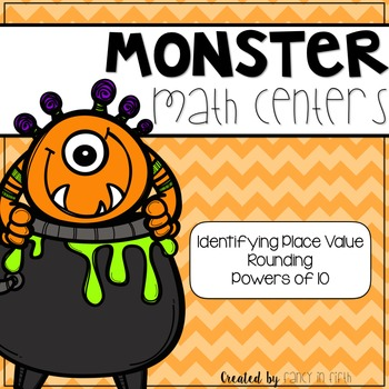 5th Grade Halloween Math Centers