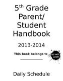 5th Grade Handbook
