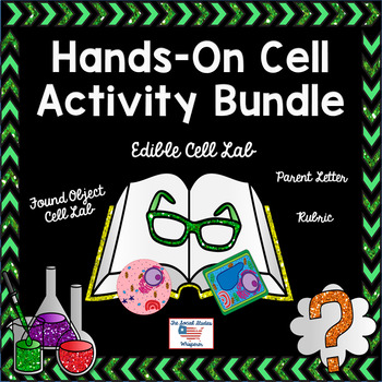 5th Grade Hands-On Cell Activity Bundle