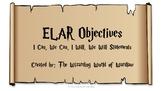 5th Grade Harry Potter ELAR Objective Statements