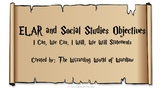 5th Grade Harry Potter ELAR and Social Studies Objective S