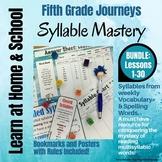 Syllable Mastery for 5th Grade