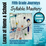 Syllable Mastery for 5th Grade