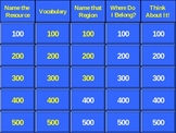 5th Grade History Alive Chapter 3 Jeopardy (Native Americans)