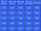 5th Grade History Alive Jeopardy Review Games Bundle