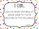 """5th Grade """"I Can"""" Statements Bundle: All Standards - Rainbow Colors"""