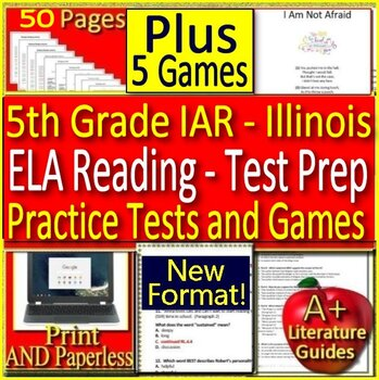 5th Grade IAR  - ELA Reading: Illinois Assessment of Readiness Test Prep