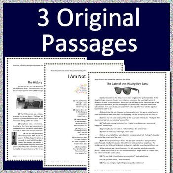 5th Grade ITBS Test Prep - Reading ELA Practice Tests Bundle