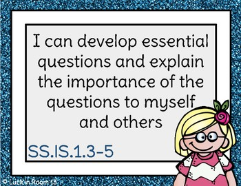5th Grade Illinois Social Science Learning Standards I Can Statements