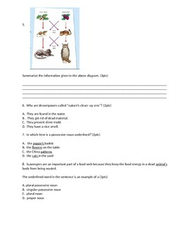 5th Grade Imagine It! CCSS Test Unt 2 Lesson 5
