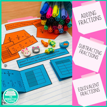 Engage New York Math Aligned Interactive Notebook: Grade 5, Module 3