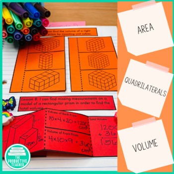 Engage New York Math Aligned Interactive Notebook: Grade 5, Module 5