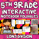 5th Grade Interactive Notebook - Division