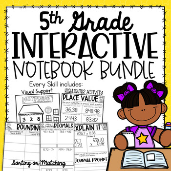 5th Grade Interactive Notebook - Place Value {5.NBT Growing Bundle}