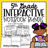 5th Grade Interactive Notebook - Place Value {5.NBT Growin
