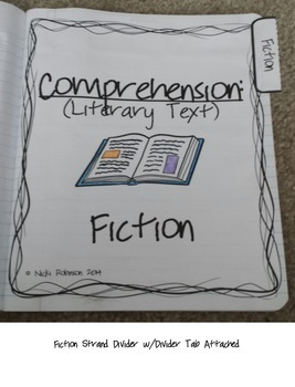 5th Grade Interactive Reading Notebook - TEKS Aligned