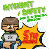 5th Grade Internet Safety Digital Interactive Notebook