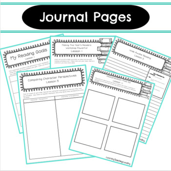 5th Grade Interpretation Book Clubs Student Notebook