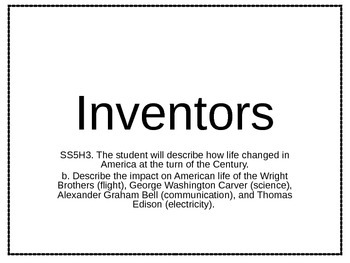 5th Grade Inventors PPT