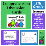 5th Grade Journeys: Comprehension Cards
