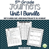 5th Grade Journeys Unit 1 BUNDLE of Resources