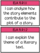 5th Grade LAFS I Can Statements