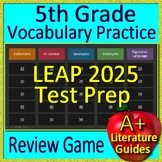 5th Grade LEAP 2025 Test Prep Vocabulary and Figurative Language Review Game